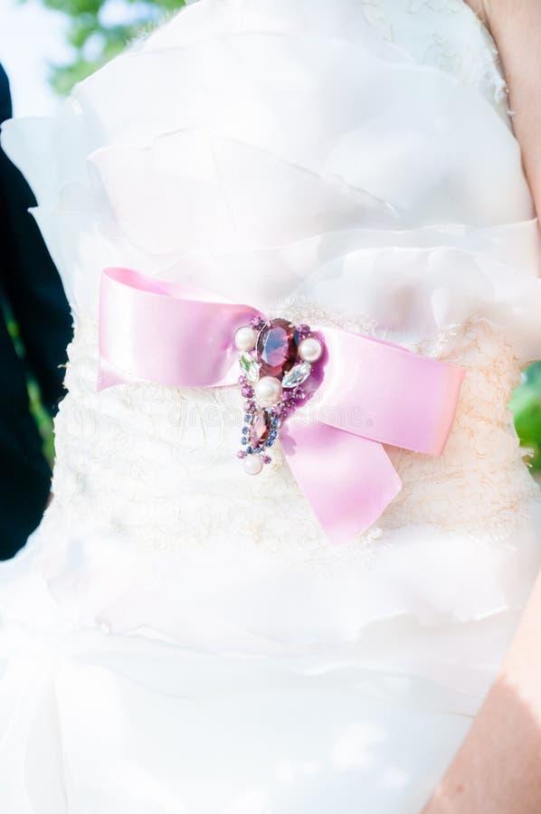 венчание заказа части платья стоковая фотография rf