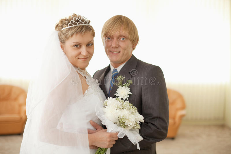 венчание залы groom невесты торжественное стоковая фотография rf