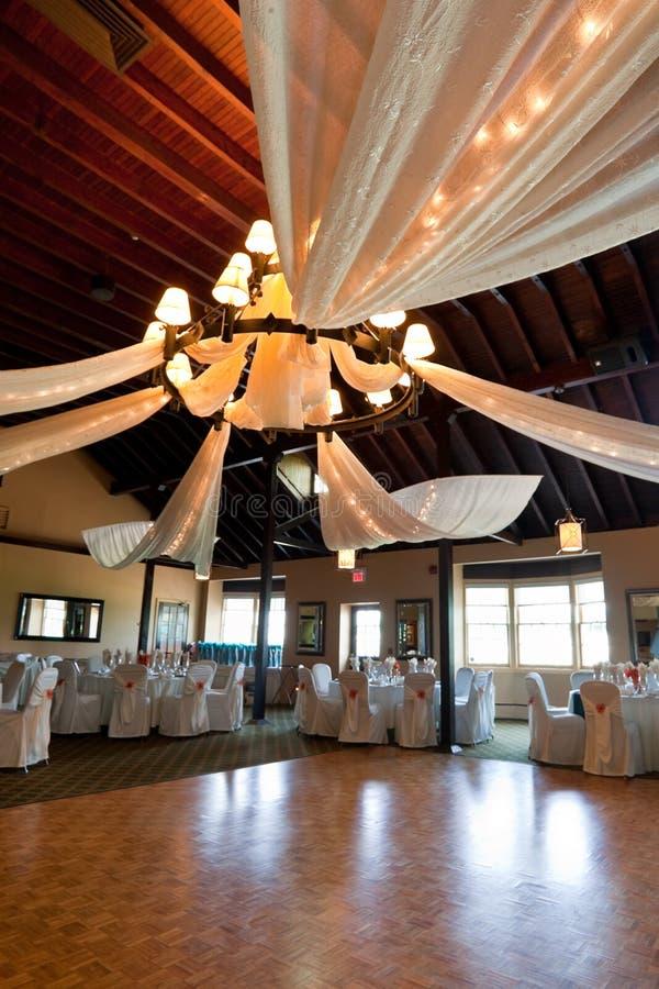 венчание комнаты приема стоковые фотографии rf