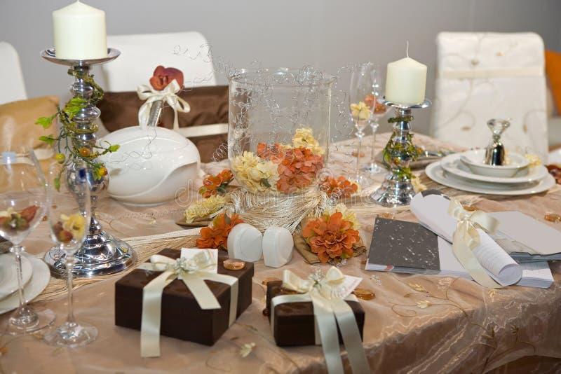 венчание обеда роскошное стоковые фотографии rf