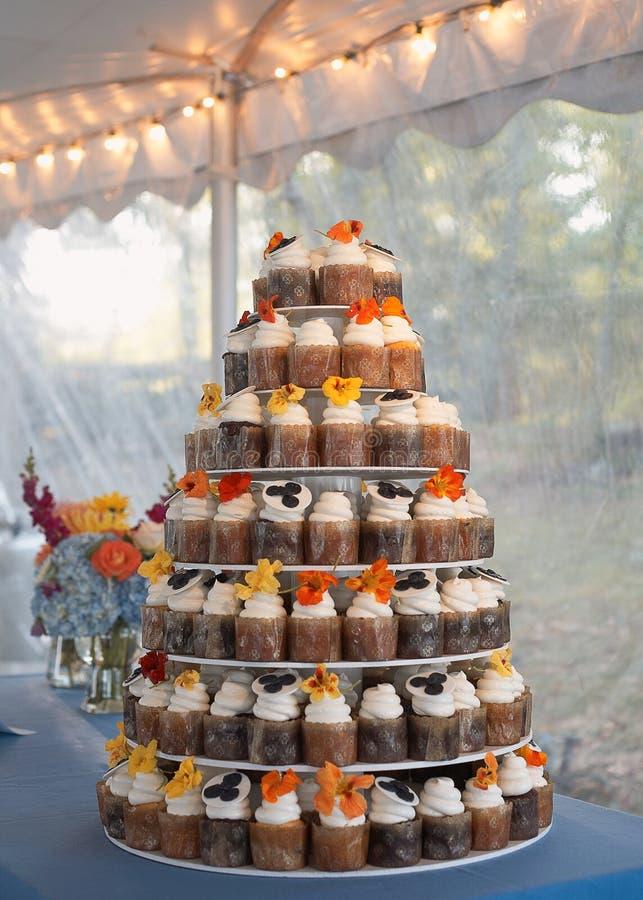 венчание пирожня торта стоковое изображение rf