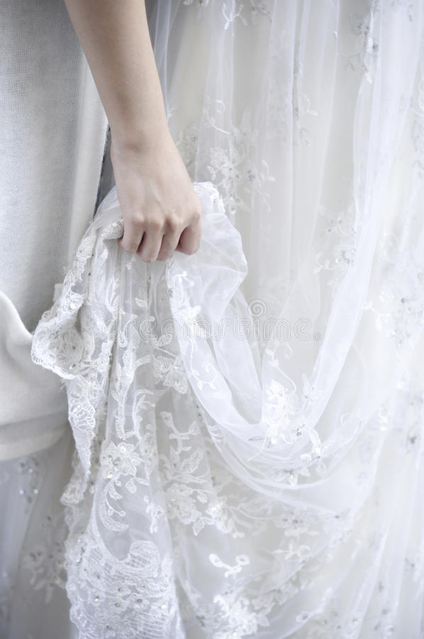 венчание платья стоковое изображение