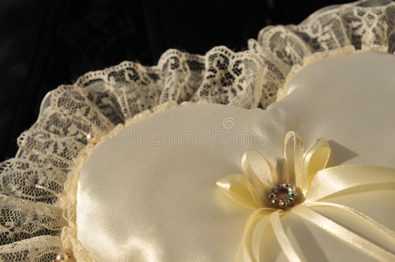 венчание подушки стоковая фотография