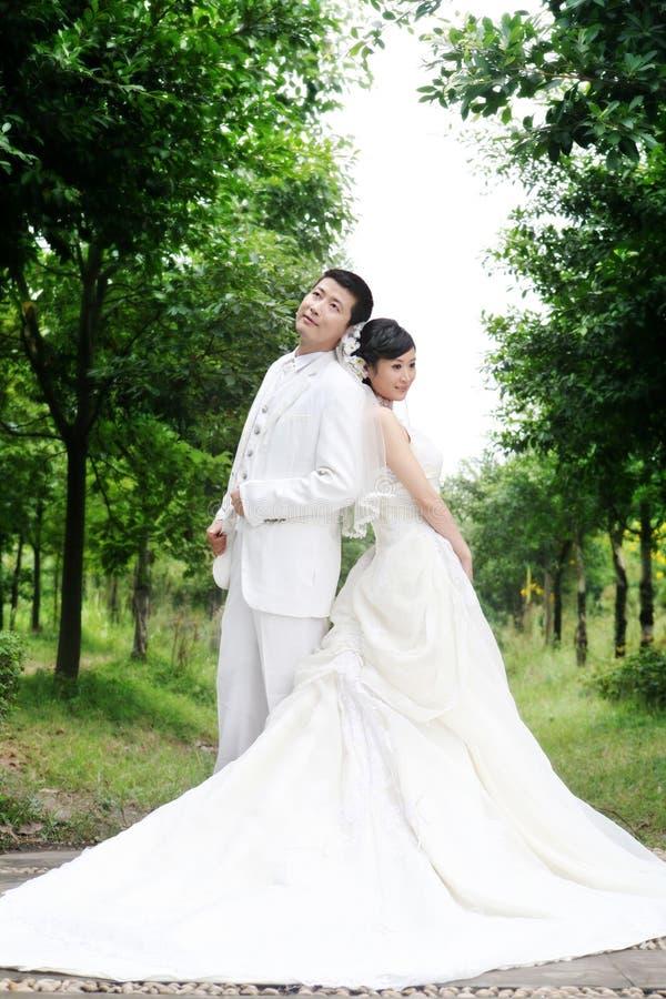 венчание портрета пар стоковое изображение