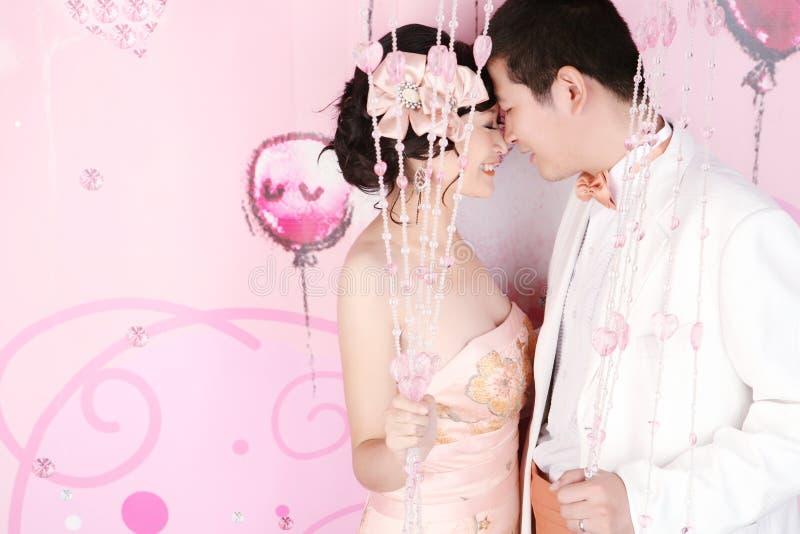 венчание портрета пар стоковое фото rf