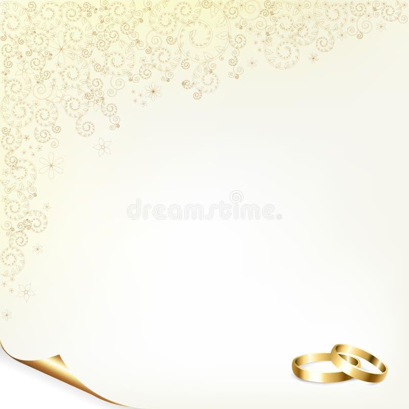 венчание предпосылки бесплатная иллюстрация