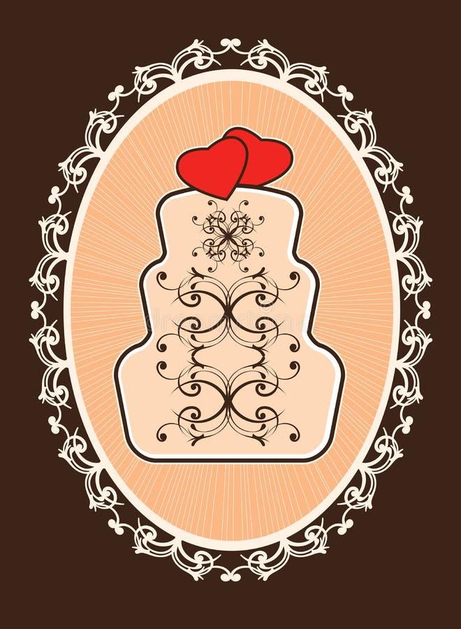венчание 8 расстегаев иллюстрация штока
