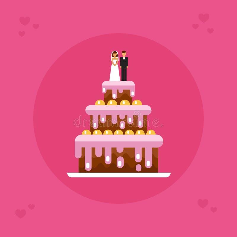 венчание 8 расстегаев иллюстрация вектора
