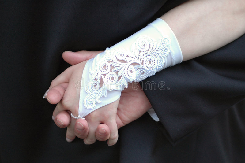 венчание руки стоковое фото rf
