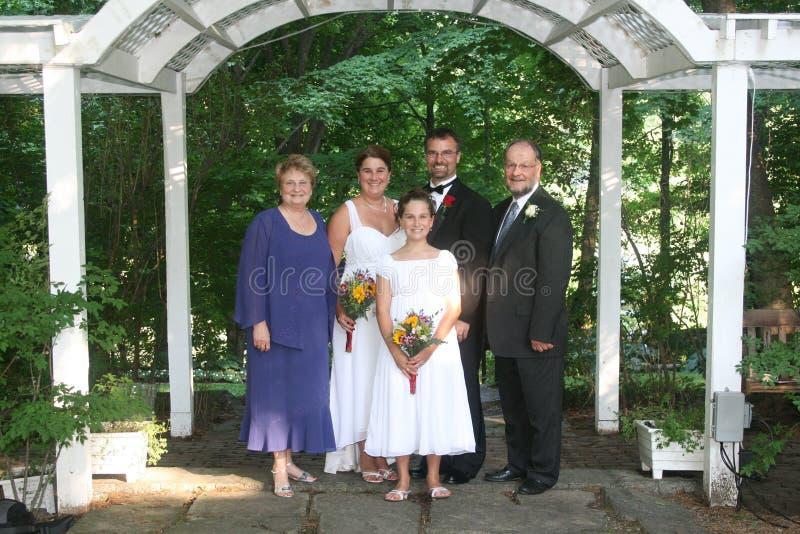 венчание семьи стоковые фотографии rf