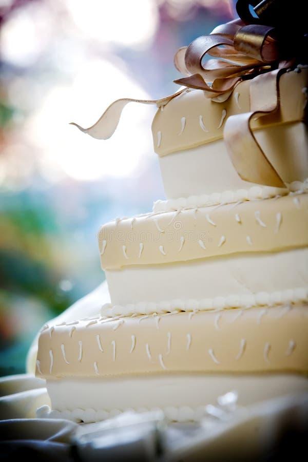 венчание холодных деталей торта причудливое Стоковая Фотография RF