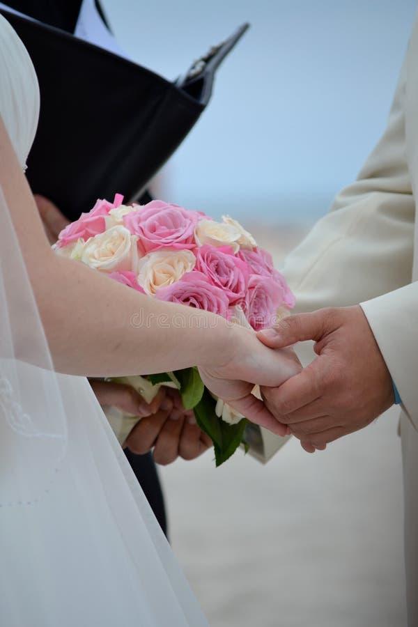 венчание цветка церемонии невесты стоковое изображение