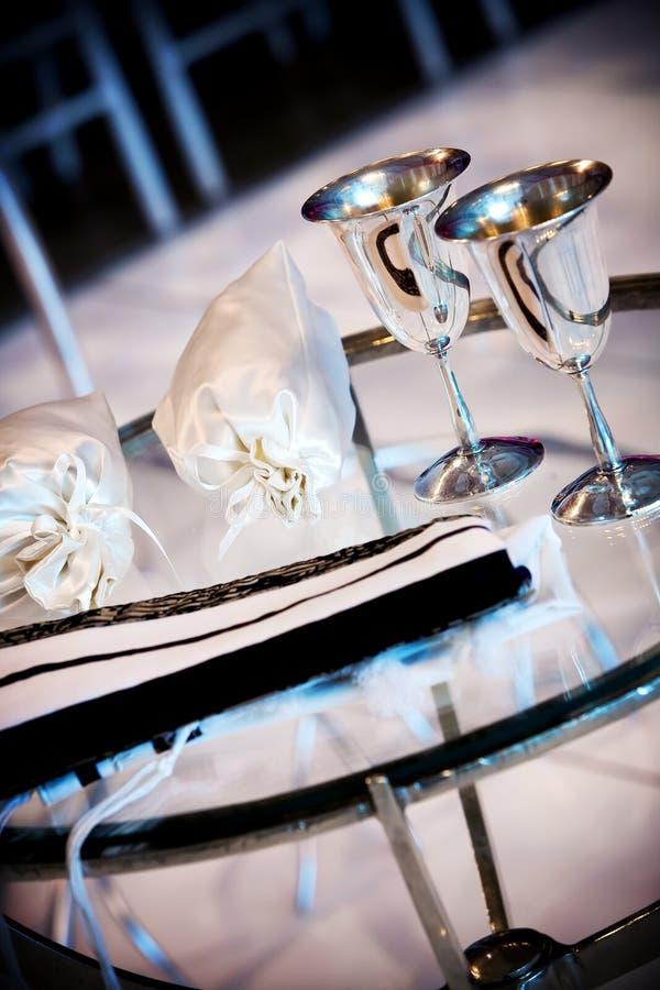 венчание церемонии еврейское стоковые фото