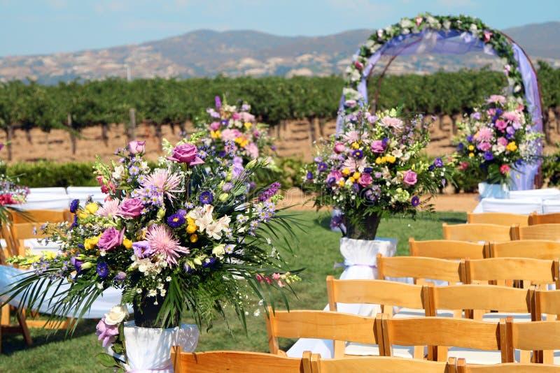 венчание церемонии стоковые изображения rf