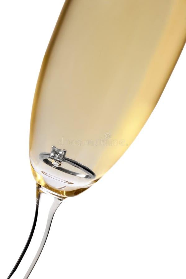 венчание шампанского стоковые изображения