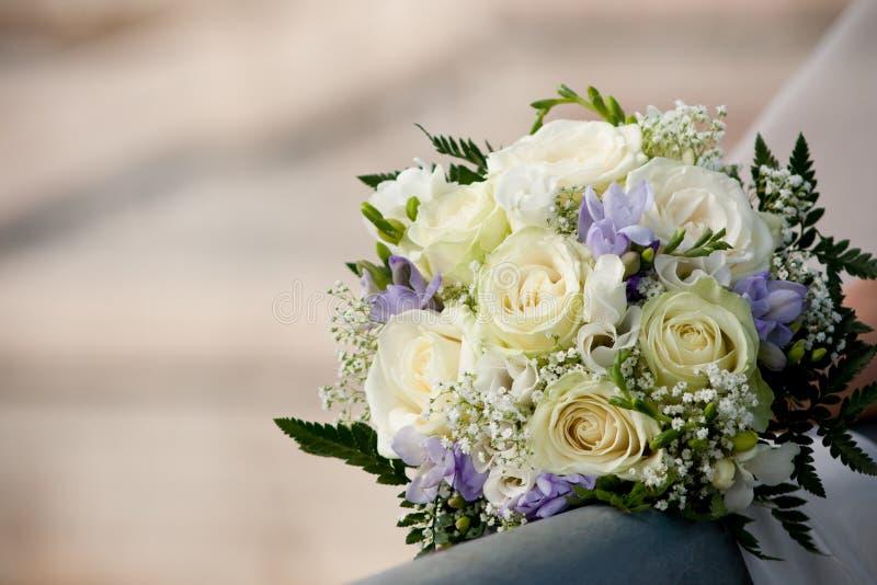 венчание 3 букетов стоковое изображение rf