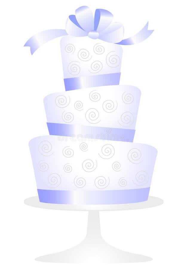 венчание eps торта иллюстрация вектора