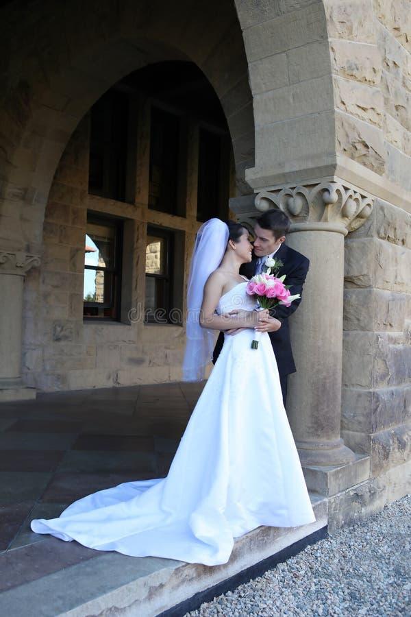венчание groom невесты стоковая фотография rf