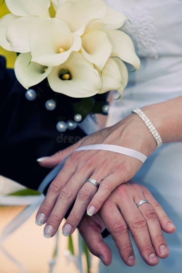 венчание groom s невесты полос стоковые изображения
