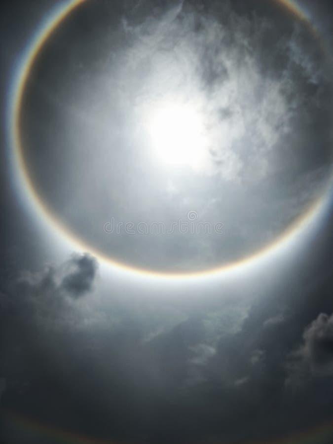 Венчик Солнця, корона солнца стоковое изображение rf