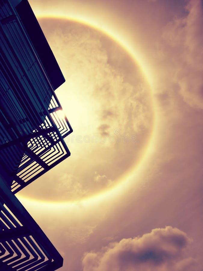 Венчик Солнця, корона солнца стоковое изображение