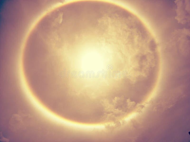 Венчик Солнця, корона солнца стоковая фотография