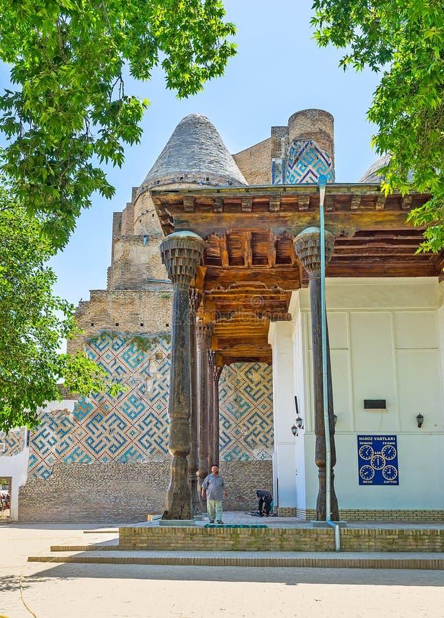 Веранда мечети имама Hazrati стоковое изображение rf
