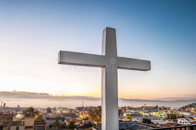 Вера в пределах города стоковая фотография