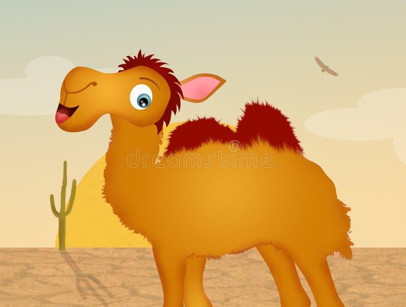 Верблюд в пустыне бесплатная иллюстрация