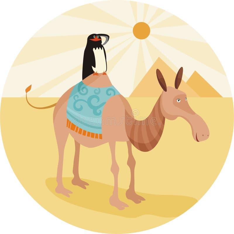 верблюд иллюстрация вектора