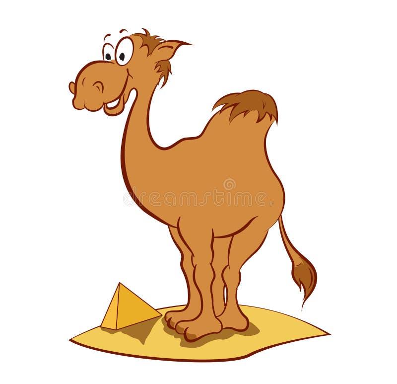 Верблюд иллюстрация штока