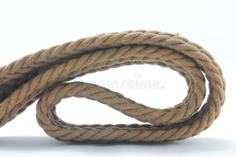 Веревочка или узел стоковая фотография
