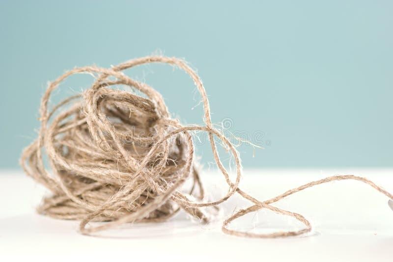 веревочка клубока стоковое изображение