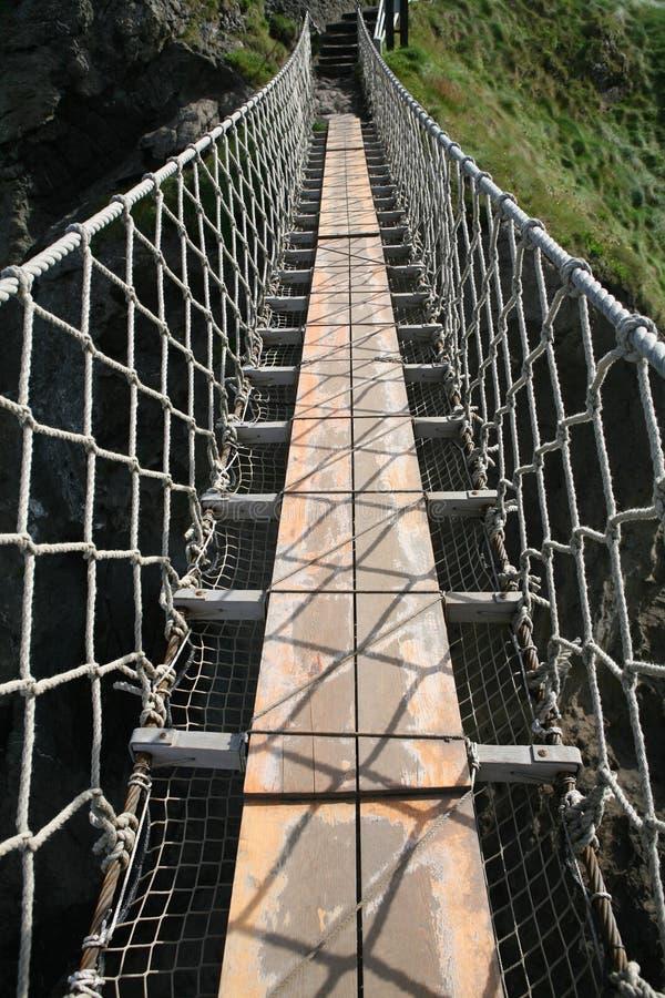 веревочка моста стоковые фотографии rf