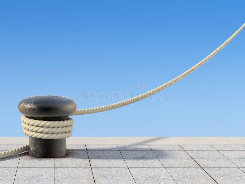 веревочка пала старая бесплатная иллюстрация