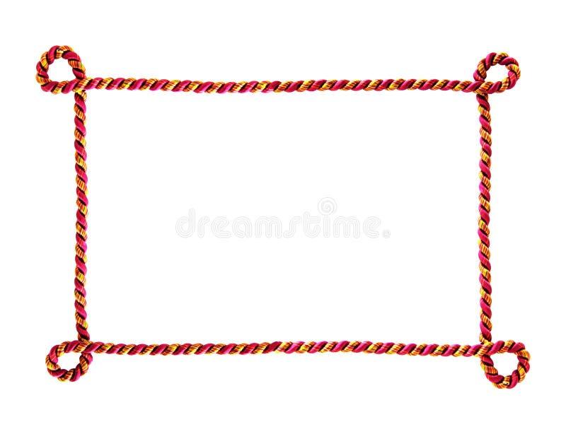 веревочка рамки стоковые фотографии rf
