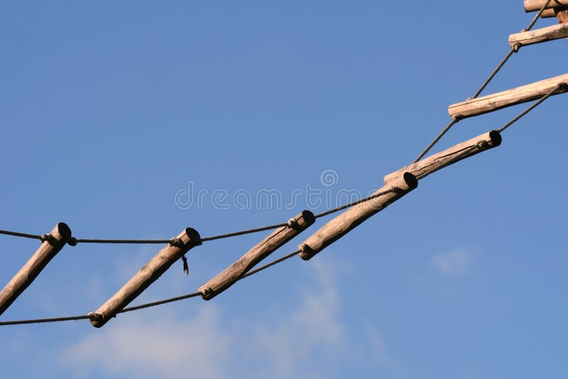 веревочка трапа стоковые фото