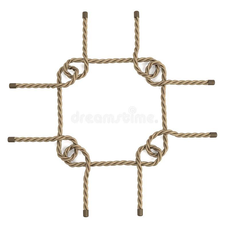 Веревочка иллюстрация вектора