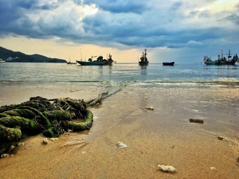 Веревочка Boat's стоковая фотография