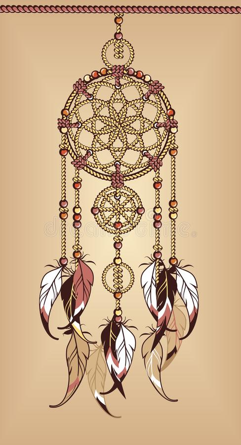 Веревочка Dreamcatcher бесплатная иллюстрация