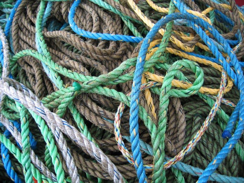 веревочки пачки стоковые фотографии rf