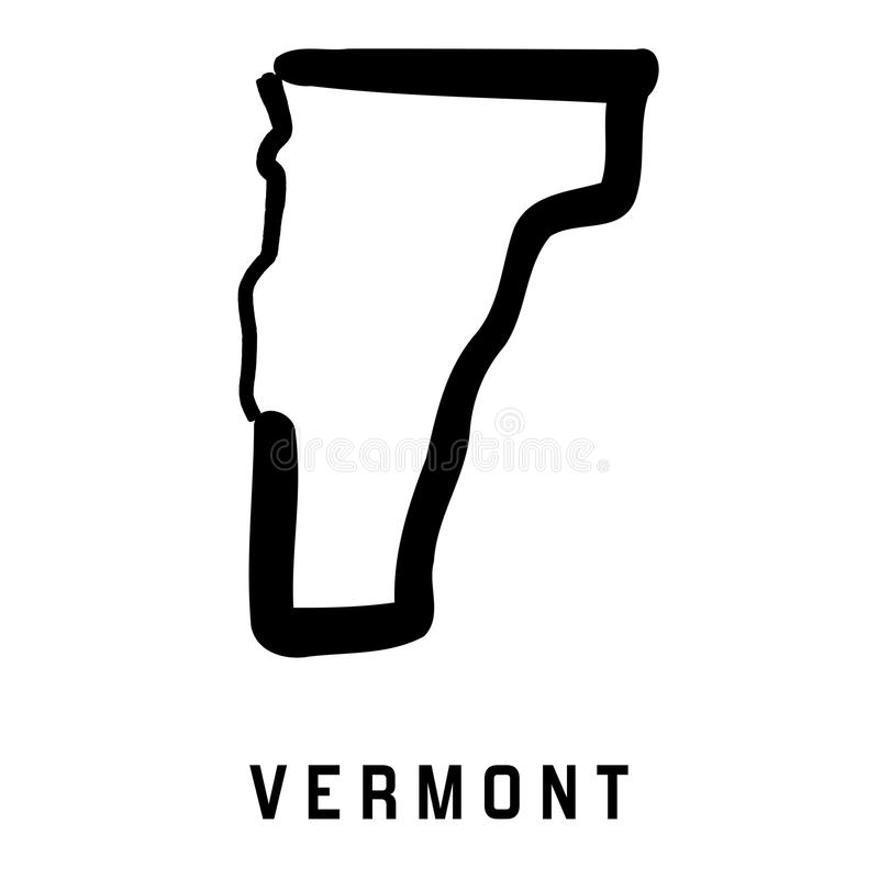Вермонт иллюстрация штока