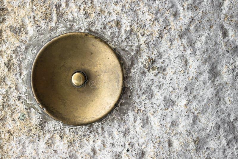 дверной звонок старый стоковые изображения
