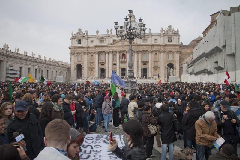 Верно в квадрате St Peter стоковая фотография rf