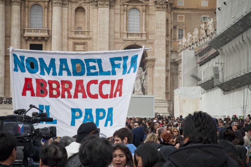 Верно в квадрате St Peter стоковая фотография