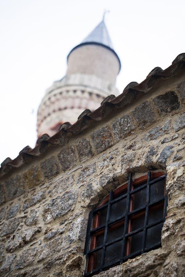 Вероисповедание символа ислама здания мечети стоковое фото rf