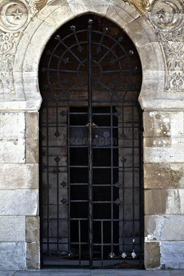 Вероисповедание символа ислама здания мечети стоковые фото
