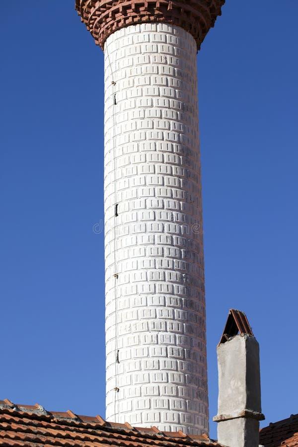 Вероисповедание символа ислама здания мечети стоковая фотография rf