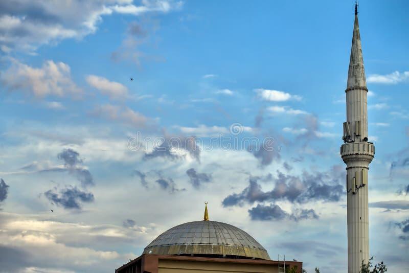 Вероисповедание символа ислама здания мечети стоковые изображения rf