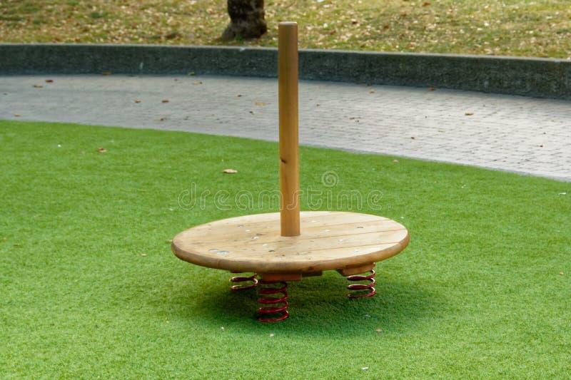 Верона, Италия 18-ое августа 2018: Парк атракционов Leoland привлекательности игры ` s детей малые стоковое фото rf